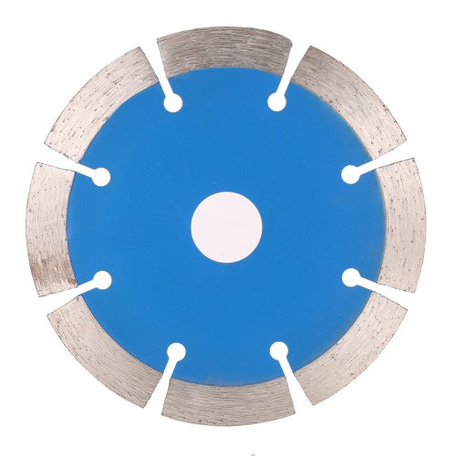 DIY Electronics E1934 114*1.8*20mm Dry Cutting Segmented Diamond Saw Blade with Cooling Holes 20mm Inner Diameter Stone Cutting For Angle Grinder Architectural Engineering Architect