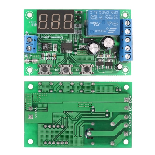 12V 0-10A DC Current Detection Module Current Sensing Detecting Delay Relay ControlModules<br>12V 0-10A DC Current Detection Module Current Sensing Detecting Delay Relay Control<br><br>Blade Length: 9.0cm