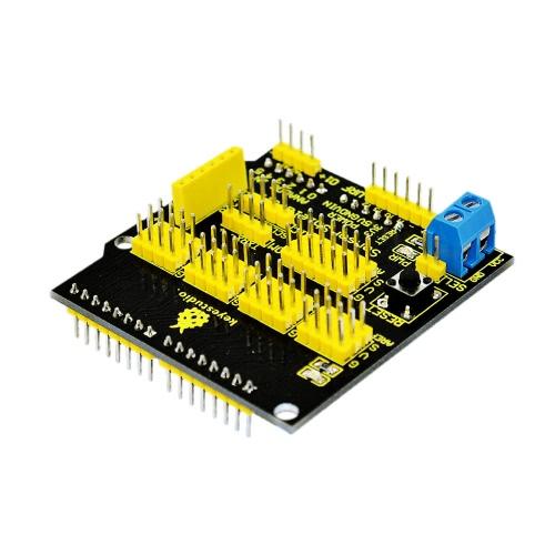 Brand New V5 Module Keyestudio Sensor Shield Expansion Board for Arduino Compatible DIY Kit E1665