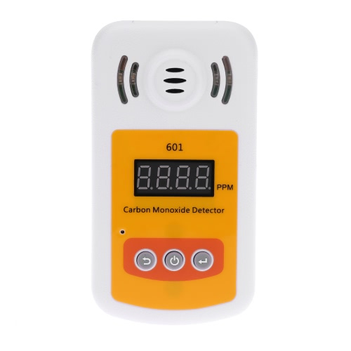 Portable Mini Carbon Monoxide Detector CO Gas Meter with Sound and Light Alarm E1546