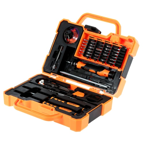 JAKEMY JM-8139 45 in 1 Professional Precise Screwdriver Set Repair Kit Opening Tools for Cellphone Computer Electronic Maintenance