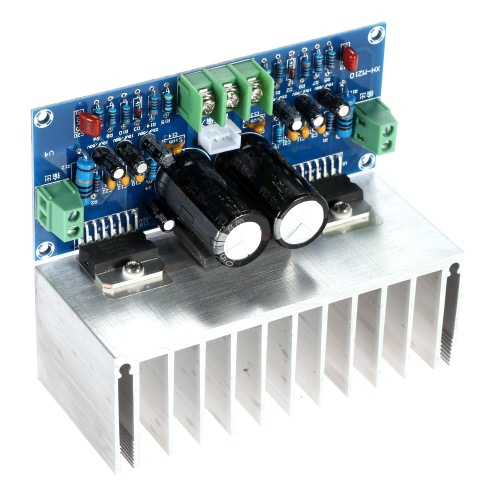 Buy TDA7293*2 2-Channel 100W+100W Analogue Stereo Audio Amplifier Board 2.0 Cable HIFI
