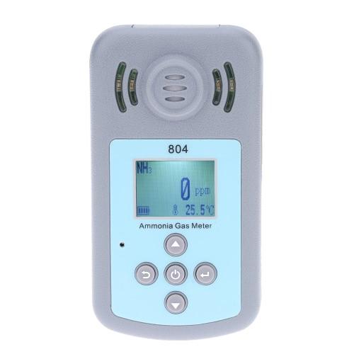 Ordinateur de poche professionnel ammoniac gaz NH3 compteur détecteur température mesure affichage à cristaux liquides alarme valeur définissable