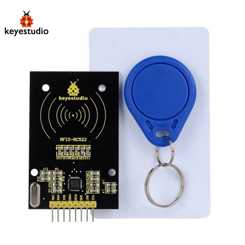 2016 New Keyestudio RC522 RFID Module for Arduino - Black + Yellow