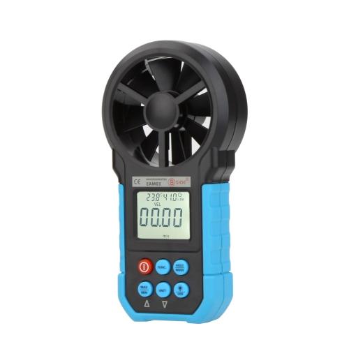 BSIDE EAM03 anémomètre numérique Air Volume/vent/vitesse/température humidité compteur jauge testeur avec USB
