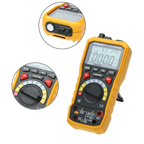 HYELEC MS8229 5 in 1 Auto Range DMM Digital Multimeter with Noise Temperature Luminance Test FunctionDigital Multimeters<br>HYELEC MS8229 5 in 1 Auto Range DMM Digital Multimeter with Noise Temperature Luminance Test Function<br><br>Blade Length: 23.0cm