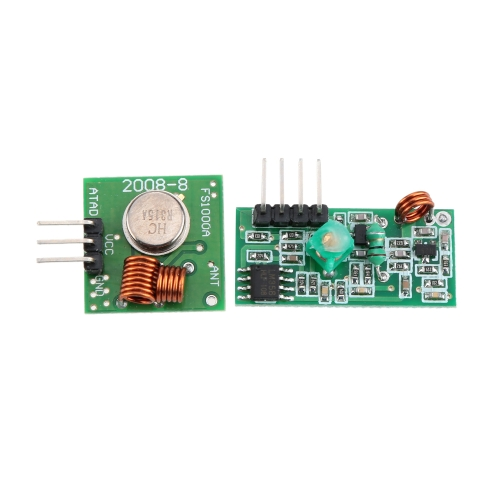 DIY Electronics E0580 5 Sets 315MHz Wireless Transmitter Receiver Alarm Module
