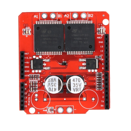 VNH2SP30 Stepping Motor Driver Module Shield Dual StepperModules<br>VNH2SP30 Stepping Motor Driver Module Shield Dual Stepper<br><br>Blade Length: 15.0cm