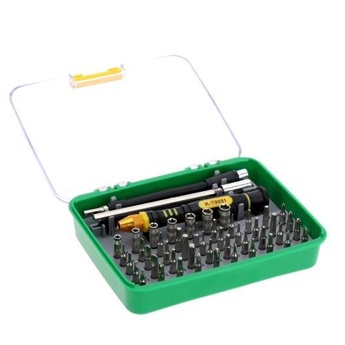 51 in 1 Professional Screwdriver Set Multi-functional Repair Tool for Smart Phone PCMaintenance Tools<br>51 in 1 Professional Screwdriver Set Multi-functional Repair Tool for Smart Phone PC<br><br>Blade Length: 14.5cm