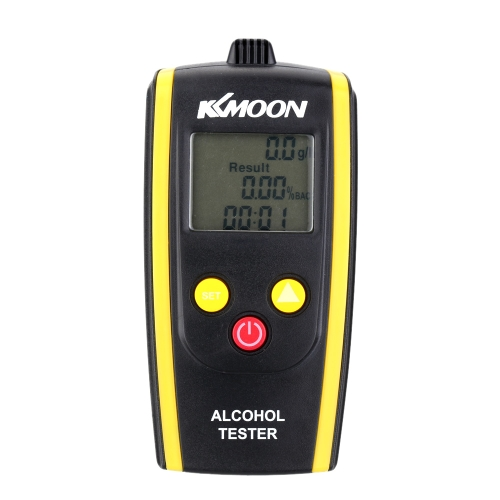 KKmoon Portable Digital Alcohol Tester Meter Detector Breathalyzer E0768
