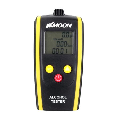 KKmoon Portable Digital Alcohol Tester Meter Detector Breathalyzer E0768