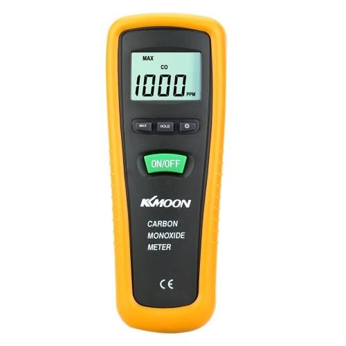 Compteur de poche numérique monoxyde de carbone KKMOON avec haute précision CO gaz testeur moniteur détecteur calibre 0 ~ 1000ppm
