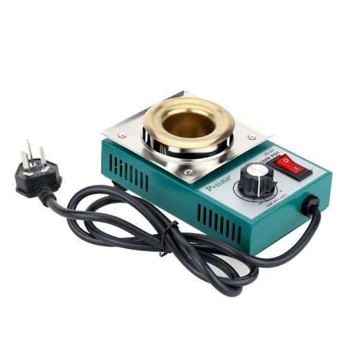 Image of Pro'sKit 220-550¡ãTitanium Plating Stainless Steel Solder Pot Temperature Adjustable Molten Tin Crucible Furnace Welding Repair Tool