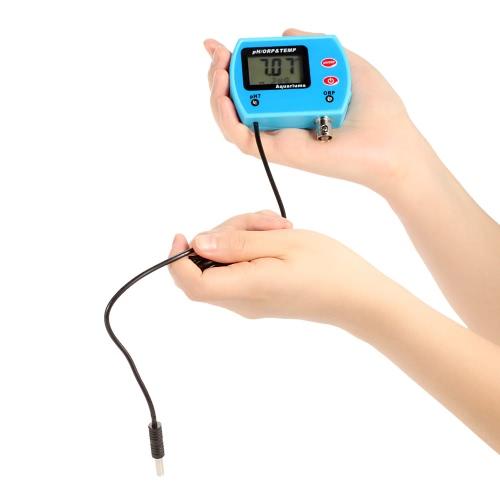 Mini professionnel 3 en 1 pH eau qualité Testeur multi-paramètres eau qualité moniteur en ligne / ORP & TEMP compteur Acidometer eau qualité analyse de périphérique