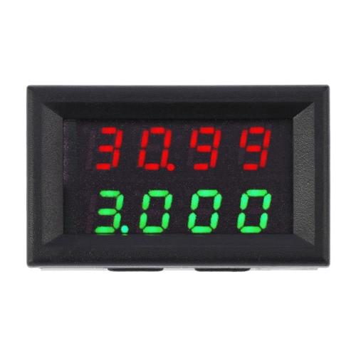 High Precision Digital LED Dual Display DC Voltage Current Meter Voltmeter Ammeter 0-33.00V 0-999.9mA-3AVoltage Testers<br>High Precision Digital LED Dual Display DC Voltage Current Meter Voltmeter Ammeter 0-33.00V 0-999.9mA-3A<br><br>Blade Length: 5.0cm