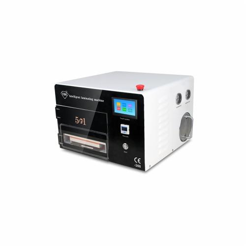 5 en 1 multifonction Intelligent OCA laminage bulle retrait Machine tactile système fonctionnement pompe à vide intégrée Air compresseur AC110V