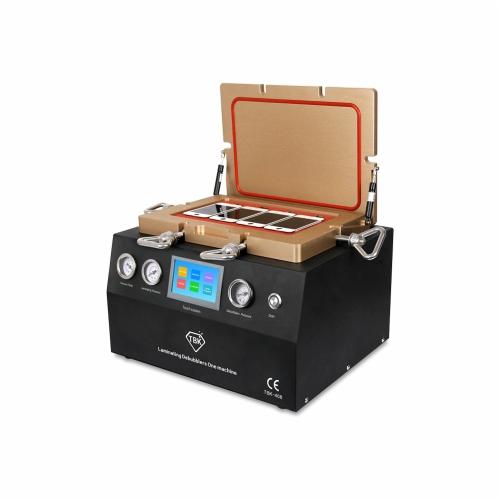 Multi-functional OCA Intelligent laminage bulle retrait Machine tactile Sytem fonctionnement pompe à vide intégrée Air compresseur AC110V