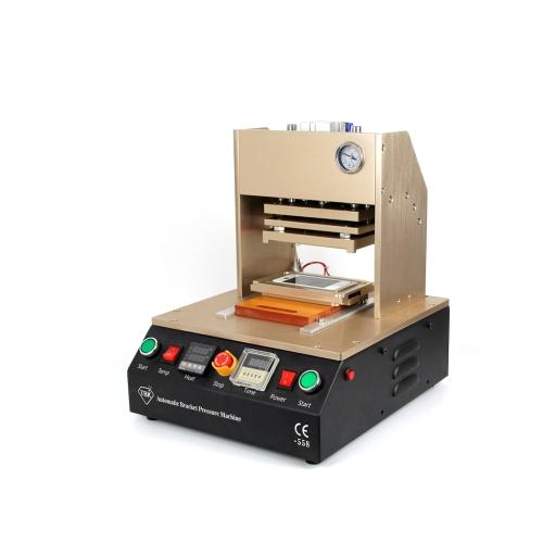 Professional cadre plastifieuse support pression plastifier Machine automatique pour iPhone avec 5 moules AC110V