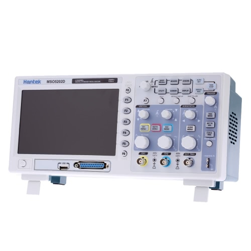 Mory MSO5202D Mixed Signal 200MHz 2 canaux 1Gsa/s 1M stockage numérique Oscilloscope 16CH analyseur logique