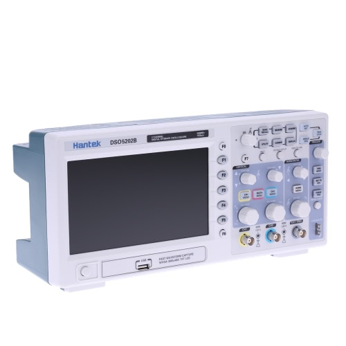 Mory DSO5202B stockage numérique professionnel Oscilloscope 2CH 200MHz 1Gsa/s 1M LCD TFT Display
