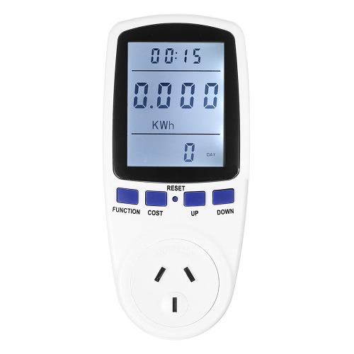 230V EU Plug Plug-in Digital LCD Energy Meter Wattage Voltage Current Frequency Monitor Analyzer with Power Factor Cost Overload DisplayDigital Multimeters<br>230V EU Plug Plug-in Digital LCD Energy Meter Wattage Voltage Current Frequency Monitor Analyzer with Power Factor Cost Overload Display<br><br>Blade Length: 20.0cm