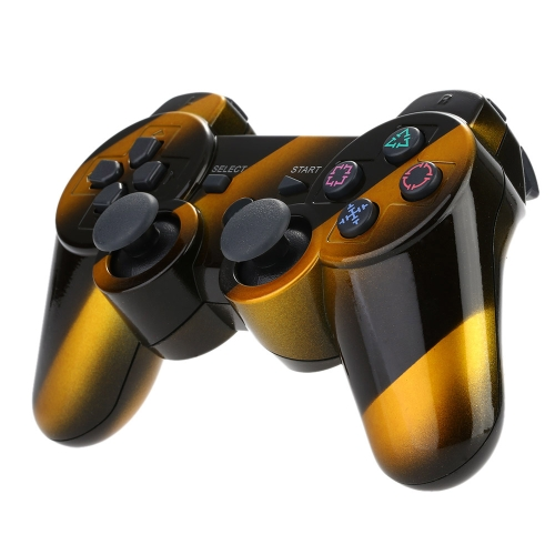 Fringe Wireless Bluetooth Gamepad Bluetooth 4.0 Six Axis Dual Shock Game Console Game Machine for PS3 Host F1481-2