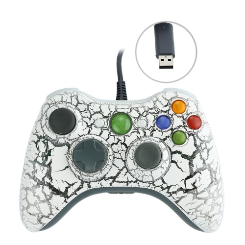 USB Wired Game Controller Gamepad Vibration Feedback for XBOX 360 Console PC F1467W
