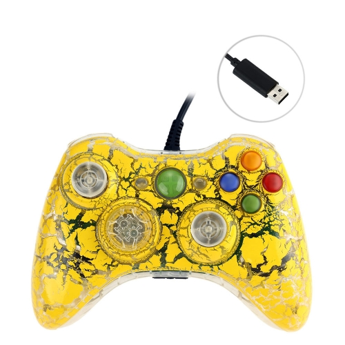 USB Wired Game Controller Gamepad Vibration Feedback for XBOX 360 Console PC F1467Y