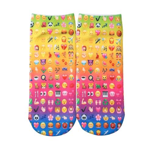 New Fashion Women Socks Cute Print Low Cut Ankle Breathable Stretchy Casual SocksNew Fashion Women Socks Cute Print Low Cut Ankle Breathable Stretchy Casual Socks<br><br>Blade Length: 15.0cm