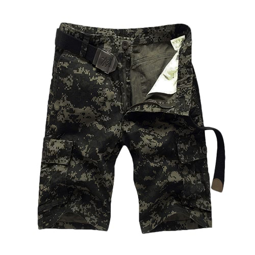 Stylish Summer Mens Camouflage Multi-Pockets Camping Cargo ShortsJeans &amp; Pants<br>Stylish Summer Mens Camouflage Multi-Pockets Camping Cargo Shorts<br><br>Blade Length: 20.0cm