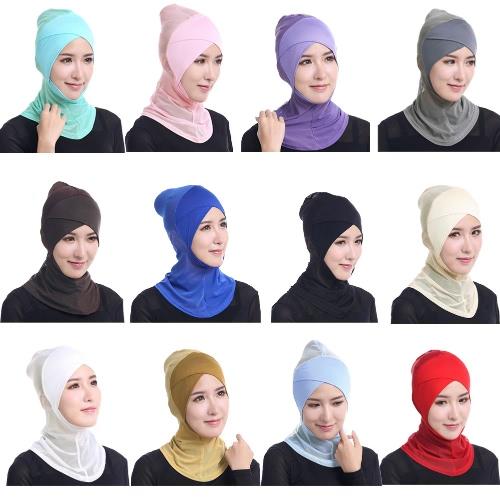 New Fashion Women Lace Muslim Hijab Solid Stretch Net Cross Modal Trim Islamic Turban Head CoverHats / Caps<br>New Fashion Women Lace Muslim Hijab Solid Stretch Net Cross Modal Trim Islamic Turban Head Cover<br><br>Blade Length: 20.0cm