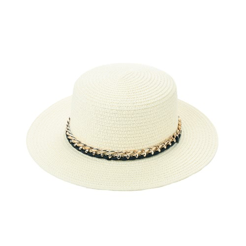 New Fashion Women Sun Hat Straw Hat Solid Wide Brim Summer Sunbonnet Beach Panama HatHats / Caps<br>New Fashion Women Sun Hat Straw Hat Solid Wide Brim Summer Sunbonnet Beach Panama Hat<br><br>Blade Length: 30.0cm