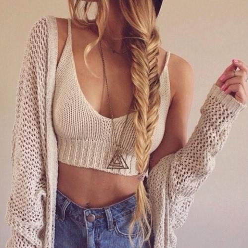 Sexy Women Crochet Knit Crop Top Deep V Neck Spaghetti Straps Beachwear Bikini Bralette Black/White/Coffee G1107W