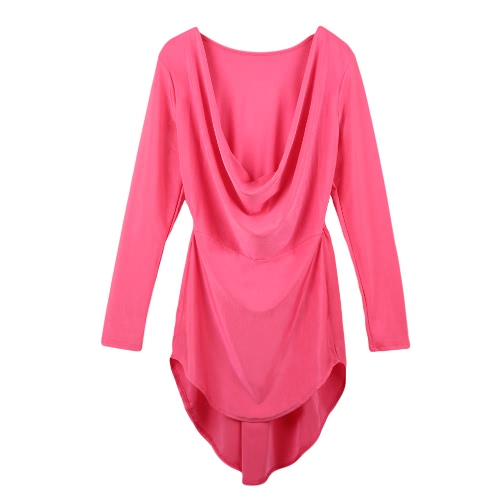 Sexy Deep V Neck Long Sleeve Irregular Swallowtail Hem Club Bodycon Dress for WomenDresses<br>Sexy Deep V Neck Long Sleeve Irregular Swallowtail Hem Club Bodycon Dress for Women<br><br>Blade Length: 20.0cm