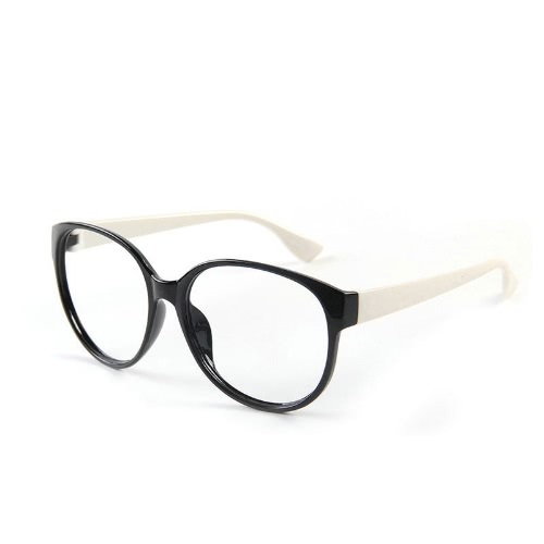 Fashion Unisex Women Men Glasses Frame No Lens Eyeglasses Eyewear Nerd Black + WhiteAccessories<br>Fashion Unisex Women Men Glasses Frame No Lens Eyeglasses Eyewear Nerd Black + White<br><br>Blade Length: 14.0cm