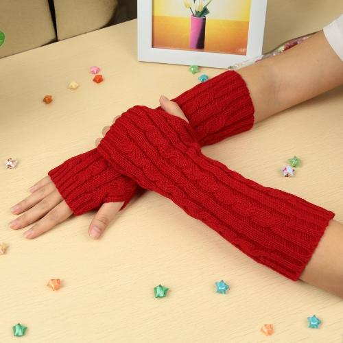Fashion Winter Gloves Mitten Warm Knitted Fingerless Arm Long UnisexAccessories<br>Fashion Winter Gloves Mitten Warm Knitted Fingerless Arm Long Unisex<br><br>Blade Length: 33.5cm