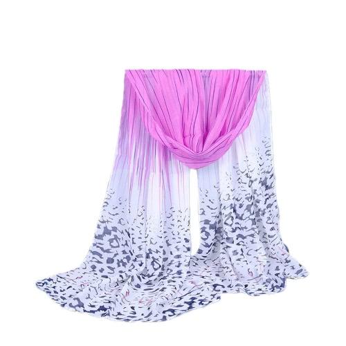 Fashion Women Chiffon Scarf Contrast Striped Print Shawl PashminaScarves &amp; Shawls<br>Fashion Women Chiffon Scarf Contrast Striped Print Shawl Pashmina<br><br>Blade Length: 15.0cm