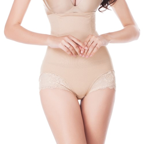 Fashion Women Body Shaper High Waist Lace