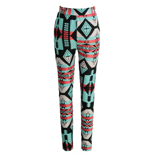 Fashion Women Leggings Contrast Color Print Fitness Sports Pants Stretchy Cropped Yoga TrousersPants &amp; Shorts<br>Fashion Women Leggings Contrast Color Print Fitness Sports Pants Stretchy Cropped Yoga Trousers<br><br>Blade Length: 20.0cm