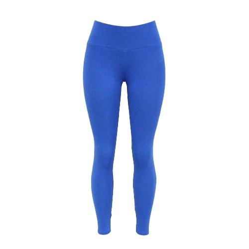 Women Leggings Sports Solid Plain Stretchy Sportswear Fitness Workout Yoga Skinny Bodycon Pants TrousersPants &amp; Shorts<br>Women Leggings Sports Solid Plain Stretchy Sportswear Fitness Workout Yoga Skinny Bodycon Pants Trousers<br><br>Blade Length: 30.0cm