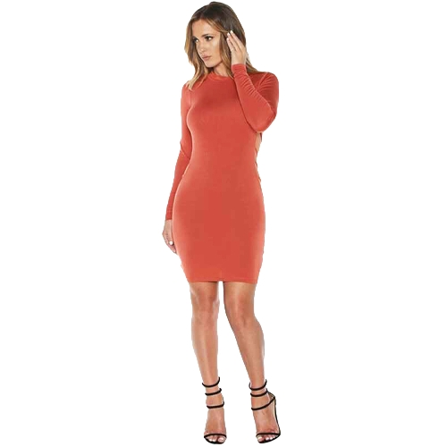 Sexy Cross Strap Backless Hollow Out Long Sleeve Bodycon Dress for WomenDresses<br>Sexy Cross Strap Backless Hollow Out Long Sleeve Bodycon Dress for Women<br><br>Blade Length: 25.0cm