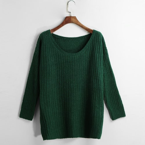 Casual Loose Autumn Long Sleeve Women's Knitwear Sweater