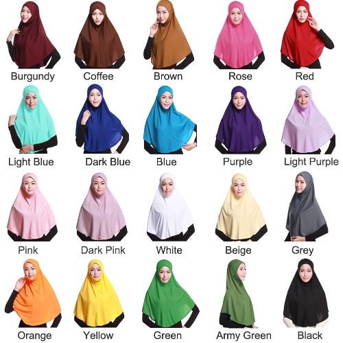 New Fashion Full Cover Muslim Hijab Head Cover Scarf Islamic Turban Beanies Underscarf Ninja HijabHats / Caps<br>New Fashion Full Cover Muslim Hijab Head Cover Scarf Islamic Turban Beanies Underscarf Ninja Hijab<br><br>Blade Length: 20.0cm