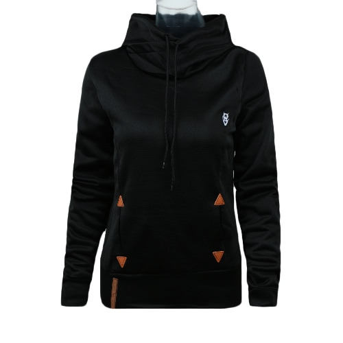 New Fashion Women Hoodie Sweatshirts Self-tie Pockets Pullover Hooded Loose TopsBlazers &amp; Coats<br>New Fashion Women Hoodie Sweatshirts Self-tie Pockets Pullover Hooded Loose Tops<br><br>Blade Length: 18.0cm