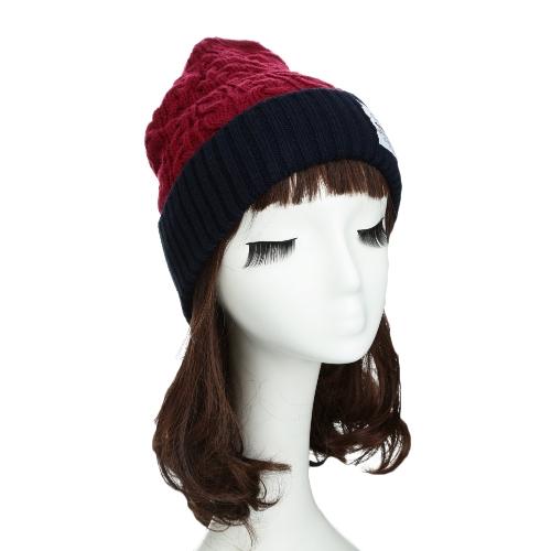 New Fashion Unisex Women Men Knitted Beanie Hat Warm Hip-Hop Cap Turtleneck Cap GA0119BU