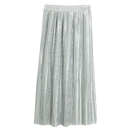 New Brief Europe Pleated Skirt Solid Color High Waist Elasticated Waistband Lined Midi SkirtBlazers &amp; Coats<br>New Brief Europe Pleated Skirt Solid Color High Waist Elasticated Waistband Lined Midi Skirt<br><br>Blade Length: 20.0cm