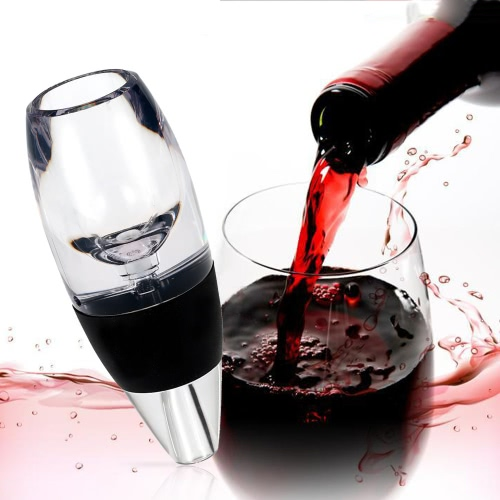 Professional Wine Decanter Set Mini Essential Red Wine Quick Aerator with Filter Stand and Pouch