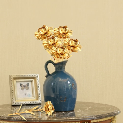 Real-Like Simulation Handmade Carnation Artificial Flower for