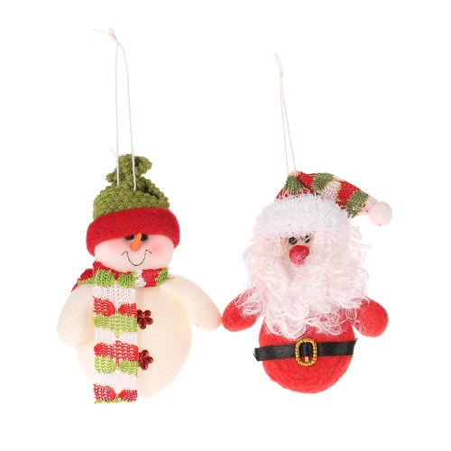 Cute Snowman/Santa Claus Christmas Tree Hanging Ornament Pendant Christmas Doll Toy Xmas Decorations Best GiftChristmas Supplies<br>Cute Snowman/Santa Claus Christmas Tree Hanging Ornament Pendant Christmas Doll Toy Xmas Decorations Best Gift<br><br>Blade Length: 11.0cm