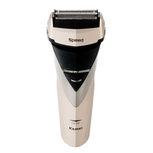 Kemei KM-8102 Electric Shaver Razor for Men Shaving Machine 3 Heads Reciprocating Hair Trimmer Rechargeable Afeitadora Men's Personal Care Epilator
